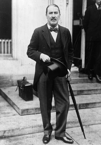Image of HOWARD CARTER (1873-1939) English archaeologist. Photographed at the White House, May 1924, © Granger / Bridgeman Images
