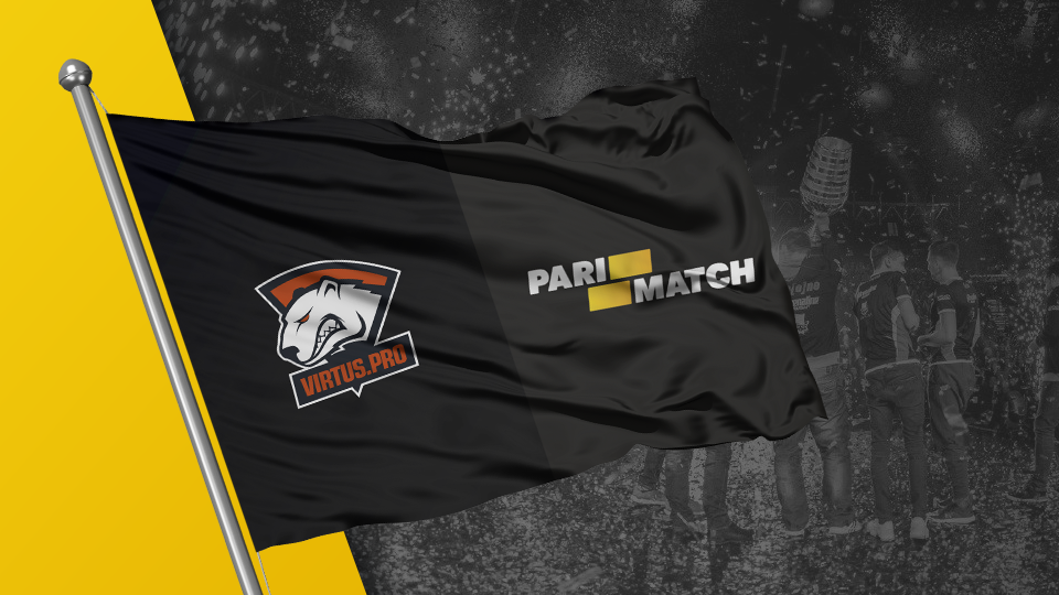 The wave of the Virtus.pro-Parimatch flag will continue for the fourth year