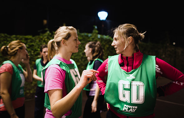 Power Play | GoSweat | Where to play Netball in Balham?
