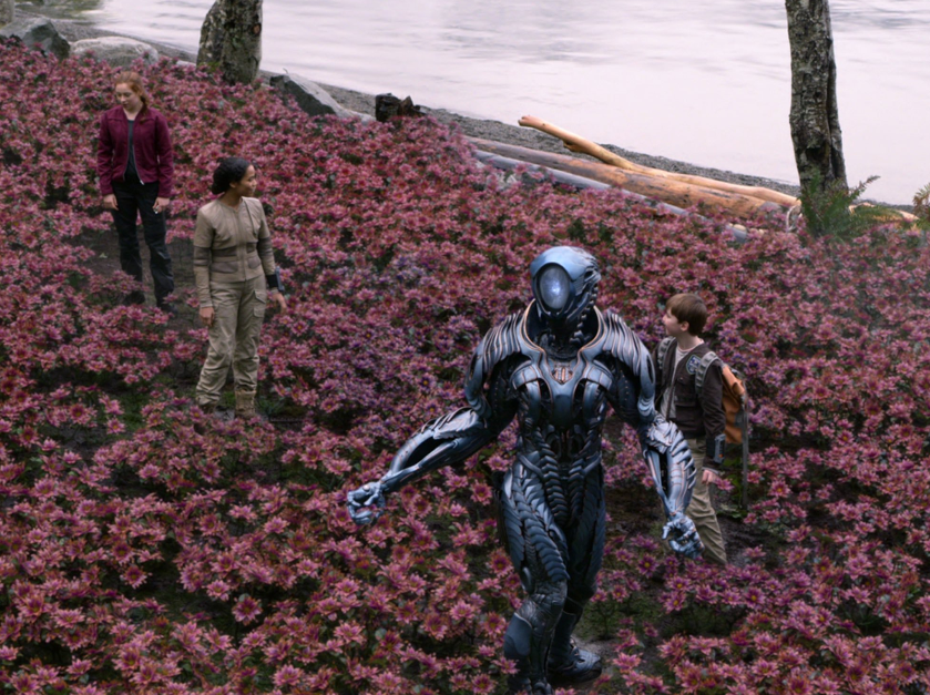 Lost in space 2 - foto dall'account Twitter