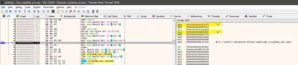 Kỹ thuật dịch ngược cho người mới bắt đầu - Mã hóa  XOR - Windows x64  - Ảnh 11.