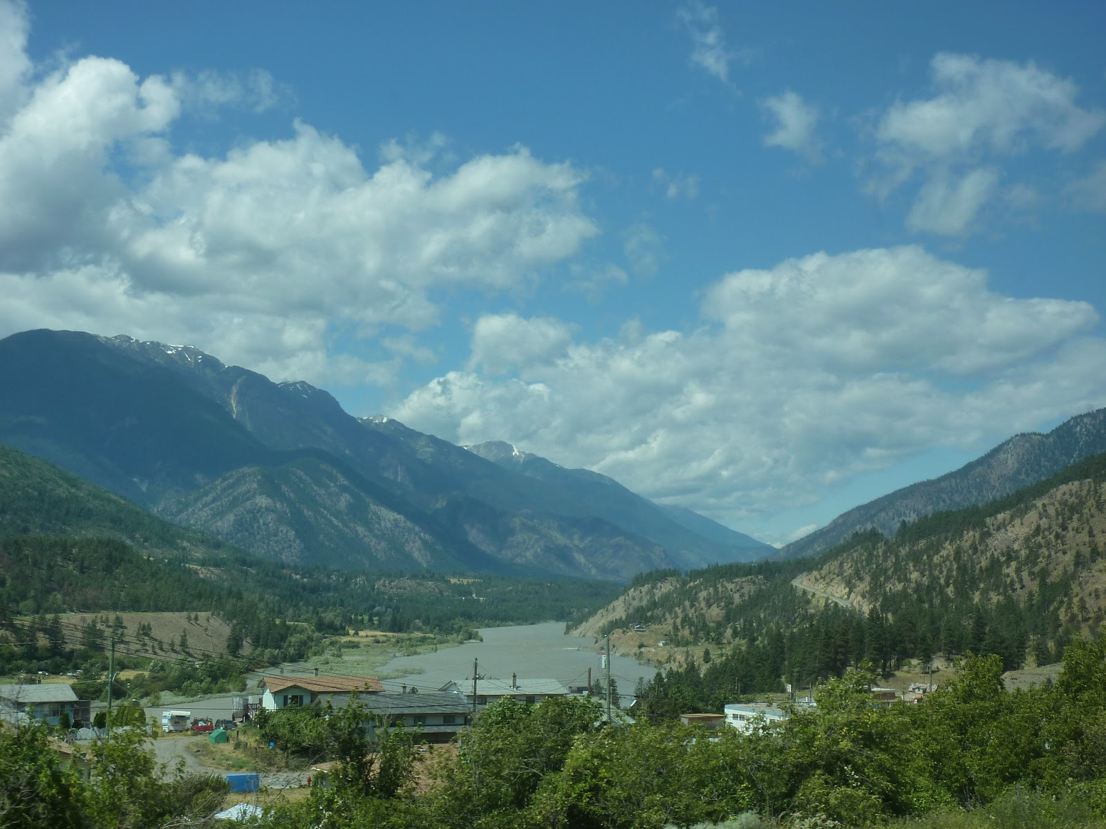 The Village of Lytton, British Columbia.