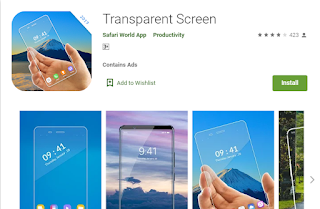 transparent apps