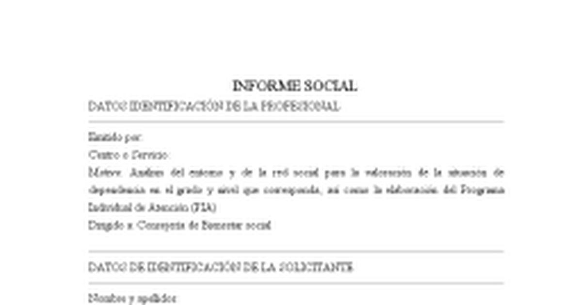 Modelo Informe Social.docx - Google Docs