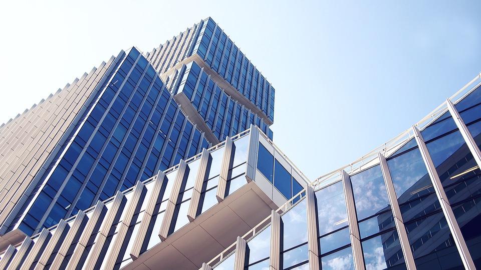 アーキテクチャ, 建物, アムステルダム, 青い空, ビジネス, 近代的な, 都市, 青, 新しい, 空