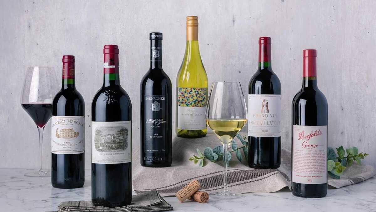 Anchor Wine Boutique sở hữu các thương hiệu rượu ngoại nổi tiếng