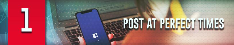 Best time to post to increase engagement on Facebook