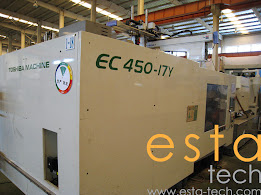 Toshiba EC450-17 (2004) All Electric Plastic Injection Moulding Machine