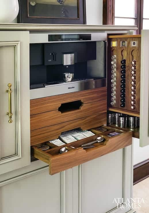 Subtle and Sleek Coffee Bar