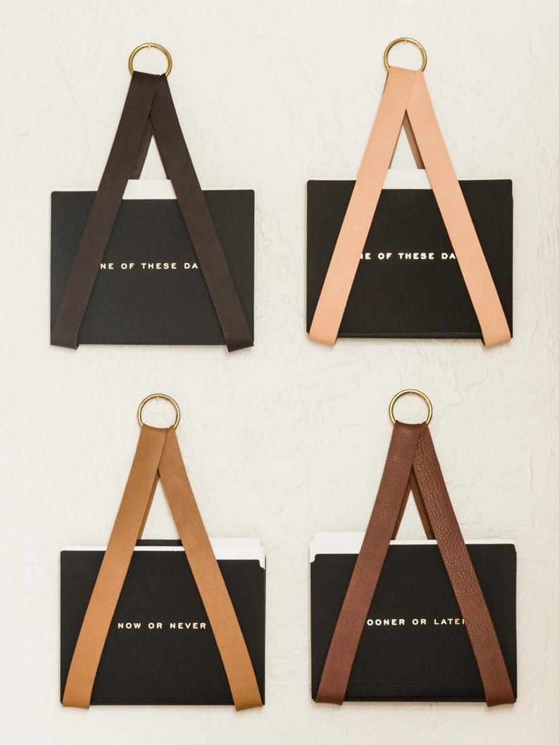Leather-Strap-Organizer