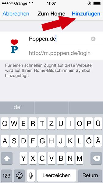 Poppen.De App