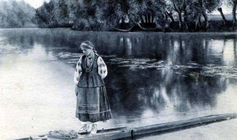 На Полтавщині. Фото невідомого автора, 1890-ті.
