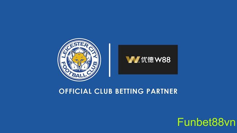 W88 là đối tác cá cược cùng CLB Leicester City mùa giải 2018/2029 & 2019/2020.