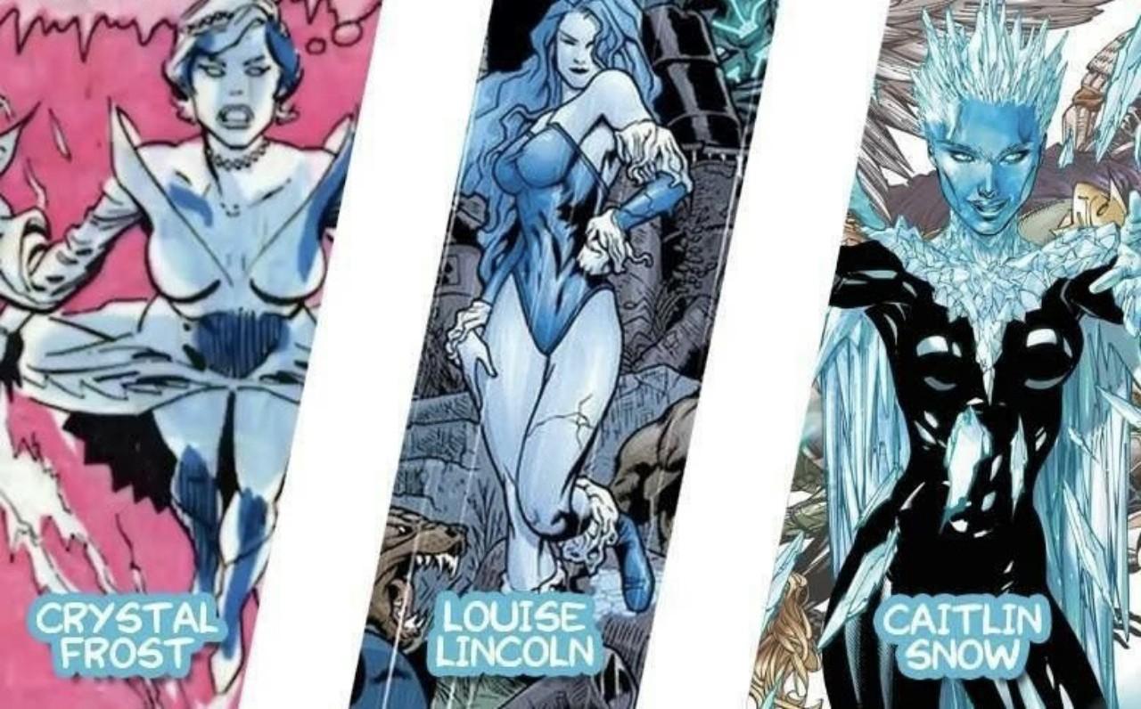 Killer Frost - unique DC villainess