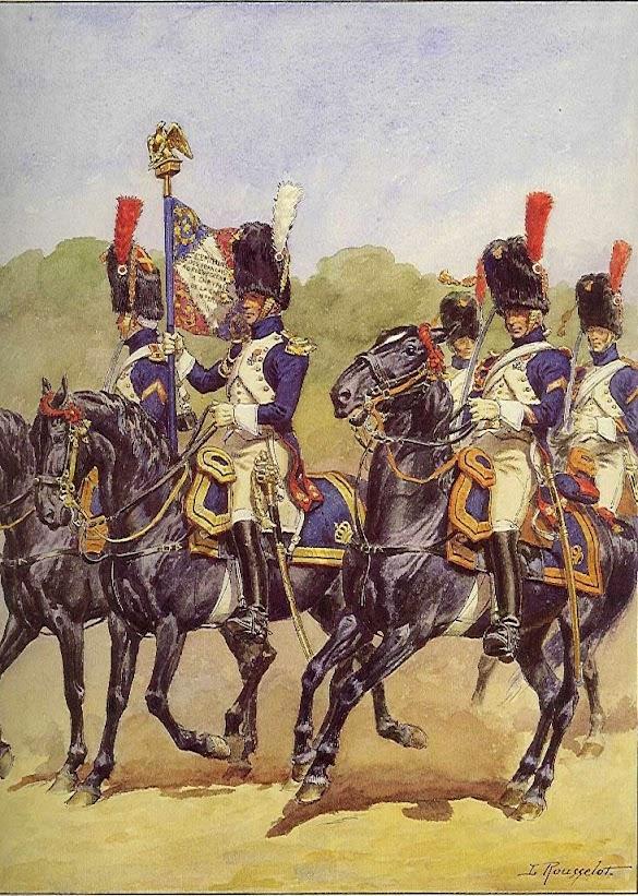 Гренадеры на параде