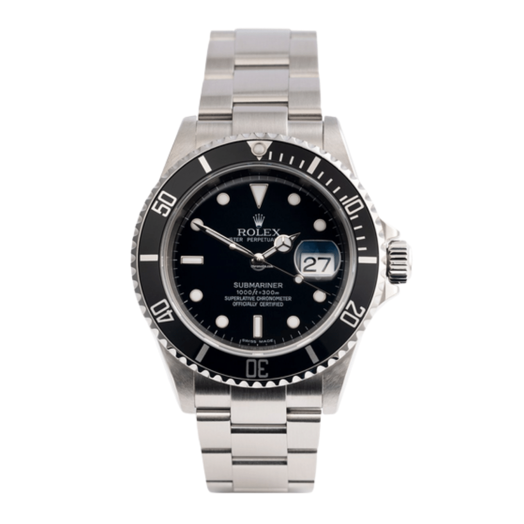 A photo of a Rolex Submariner 16610.