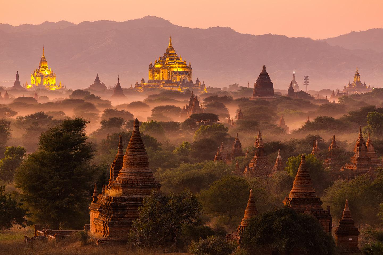 Lịch trình du lịch Bagan: Hoàng hôn diễm lệ trên Bagan