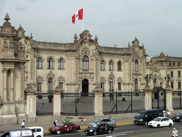 Casa de Gobierno de Lima, que es el principal destino de Turismo Raraz.