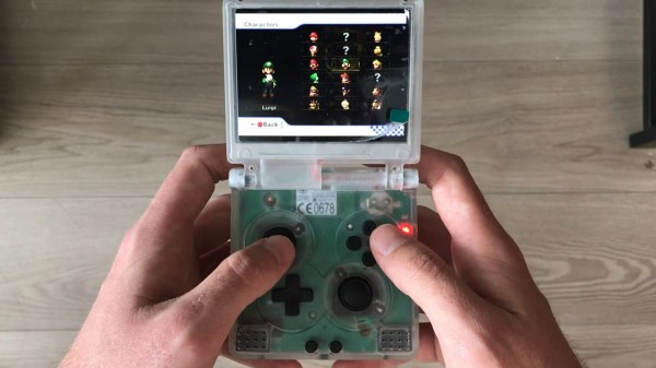 Wii SPii is a Nintendo Wii Inside the Classic GameBoy Advance; Gold Wii Catches eBay By Surprise For its Price