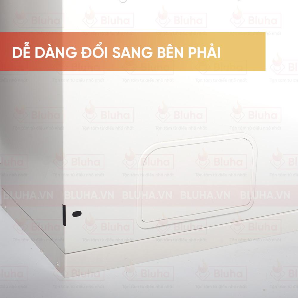 Dễ dàng đổi sang bên phải - Thùng gạo gắn cánh Qman - Phụ kiện bếp chính hãng