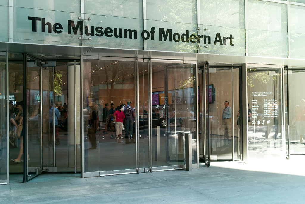 Image of The Museum of Modern Art front entrance