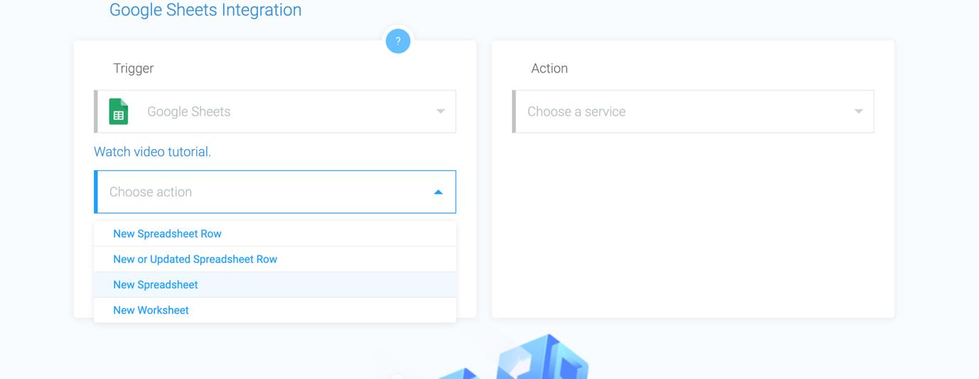 apiway google sheets integration screenshot