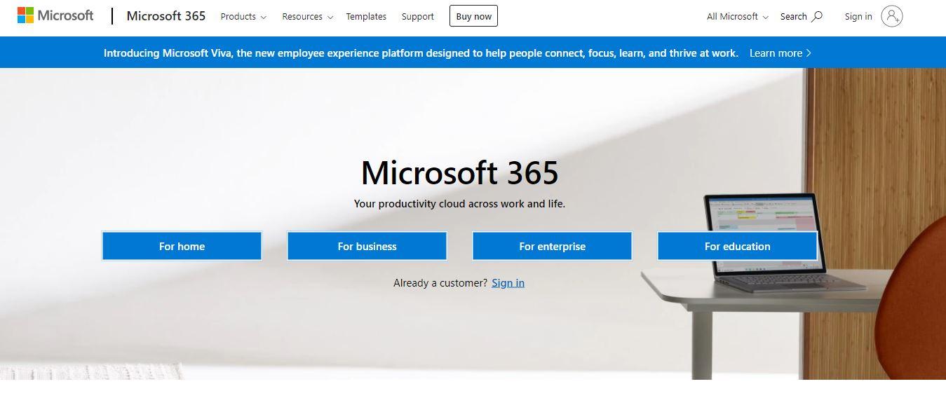 MS365 Windows Cloud Services