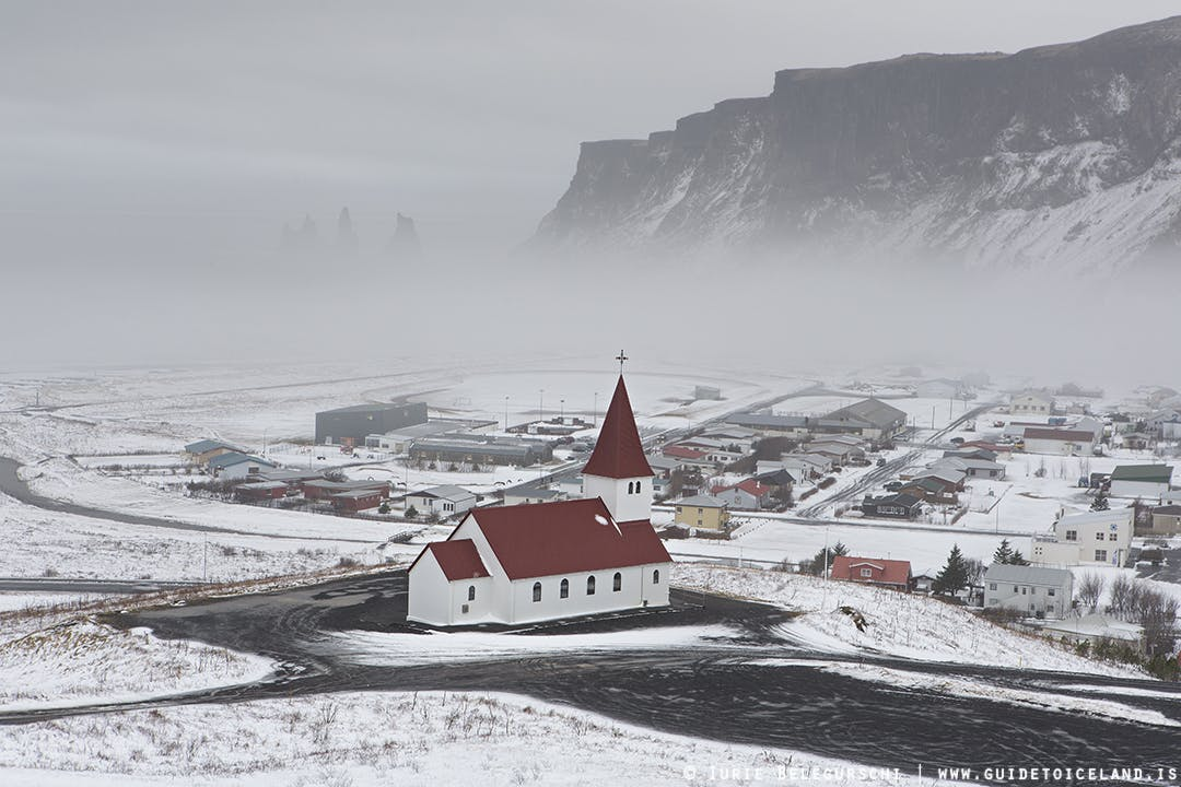 Unique town in Iceland
