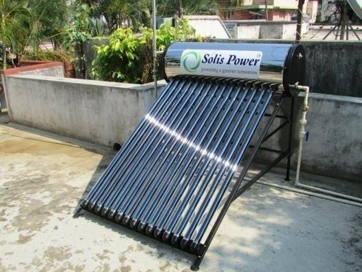 Image result for Solar-Powered Water Heater