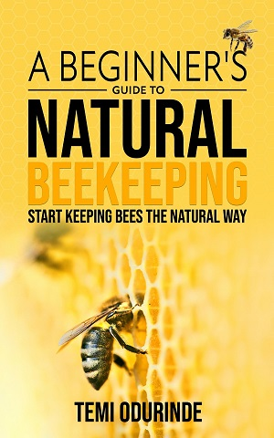 A beginner's guide to natural beekeeping book cover