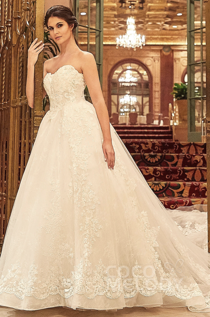 ball gown wedding dress from cocomelody
