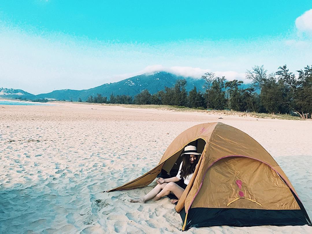 Cắm trại trải nghiệm không thể bỏ qua khi tới co to du lich