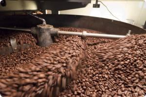 咖啡豆烘焙冷卻