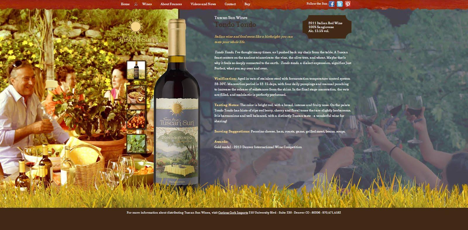 Tondo Tondo Tuscan Sun Wines