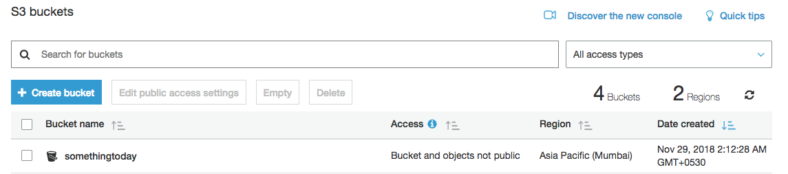AWS S3 | Access denied | Unable to grant public access to an
