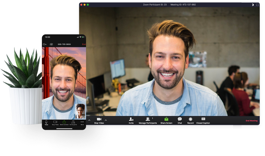 zoom is a video conferencing tool