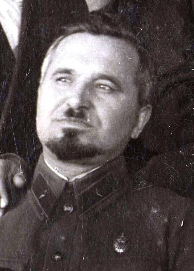 Іван Судаков під час партійної чистки 1935 року