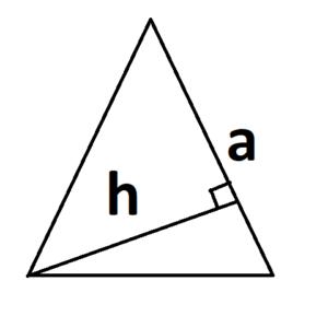 треугольник с измененным основанием