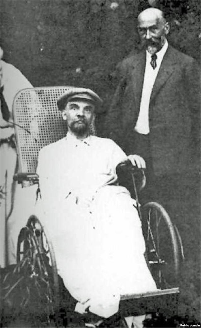 Ленин в Горках, лето 1923 года