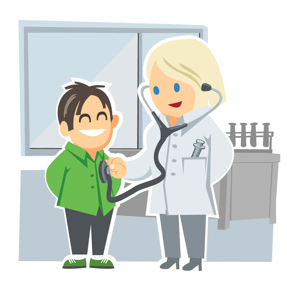 Child at Doctor - Kid at