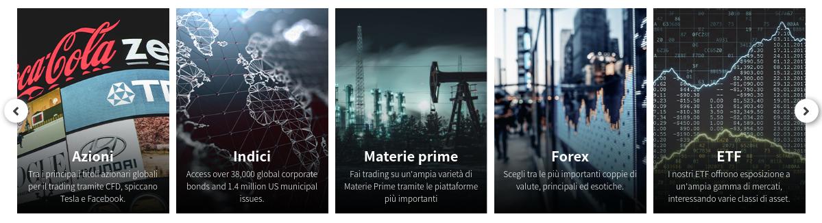 https://www.trade.com/index.php?lang=it Asset negoziabili su Trade.com