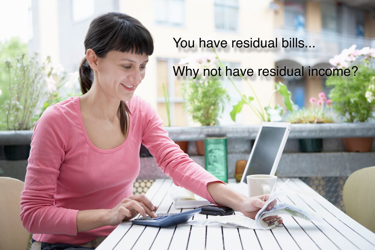 Residual Bills Need Residual Income!