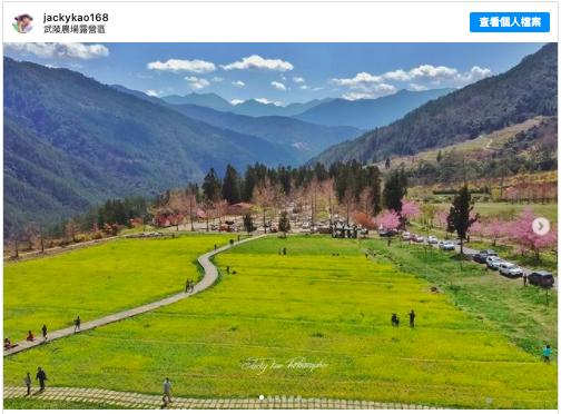 2021新春假期 到武陵農場楓林散步