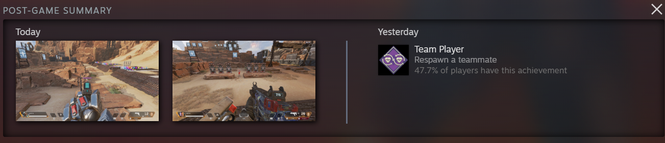 post game summary
