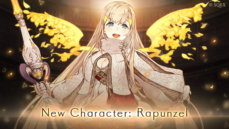 New character Rapunzel and new Act of Hatred chapters available on SINoALICE Global!