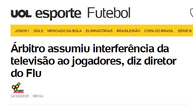 Mesmo com evidências, Flamengo vai ser protegido