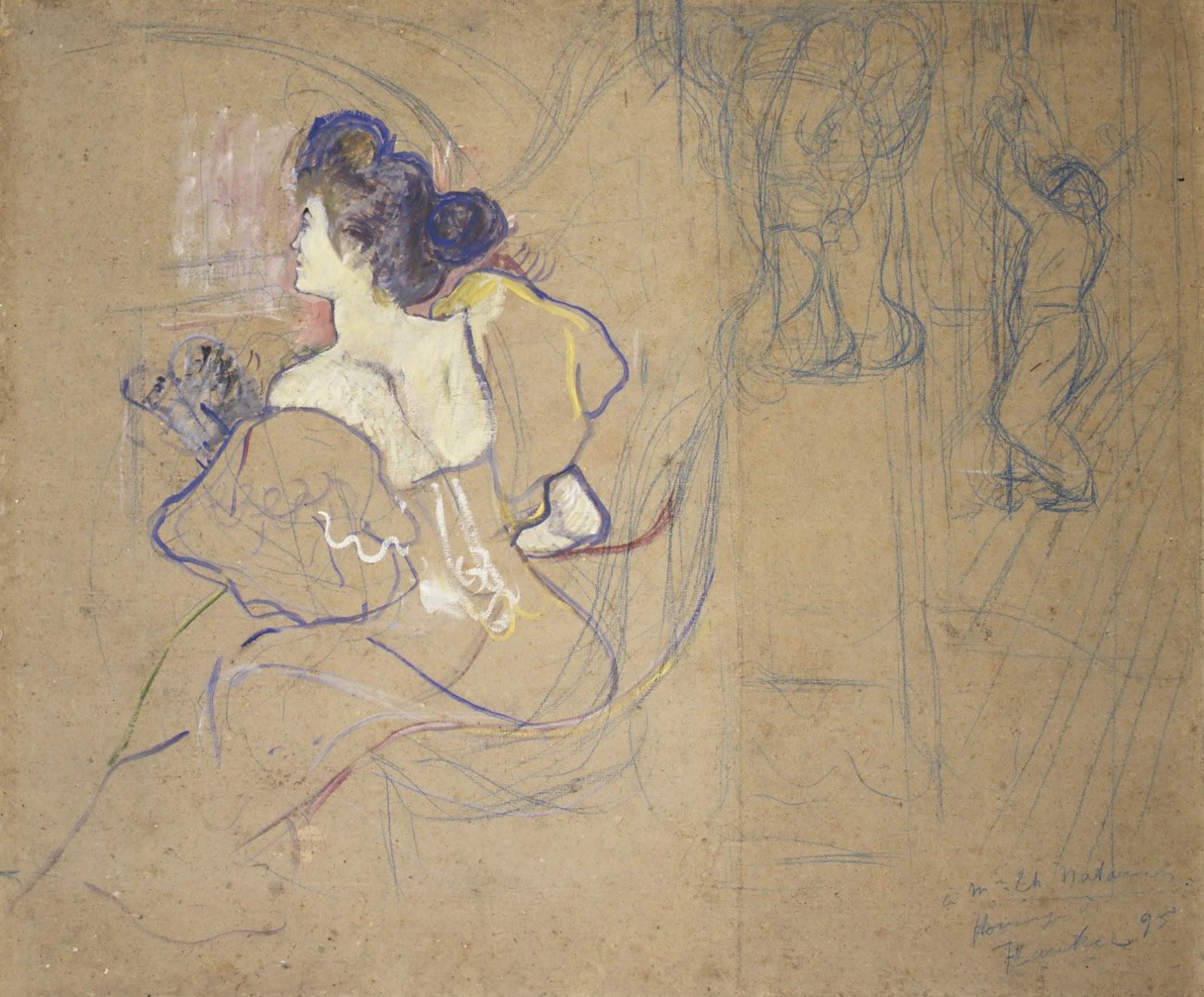 Toulouse Lautrec Madame Thadée Natanson