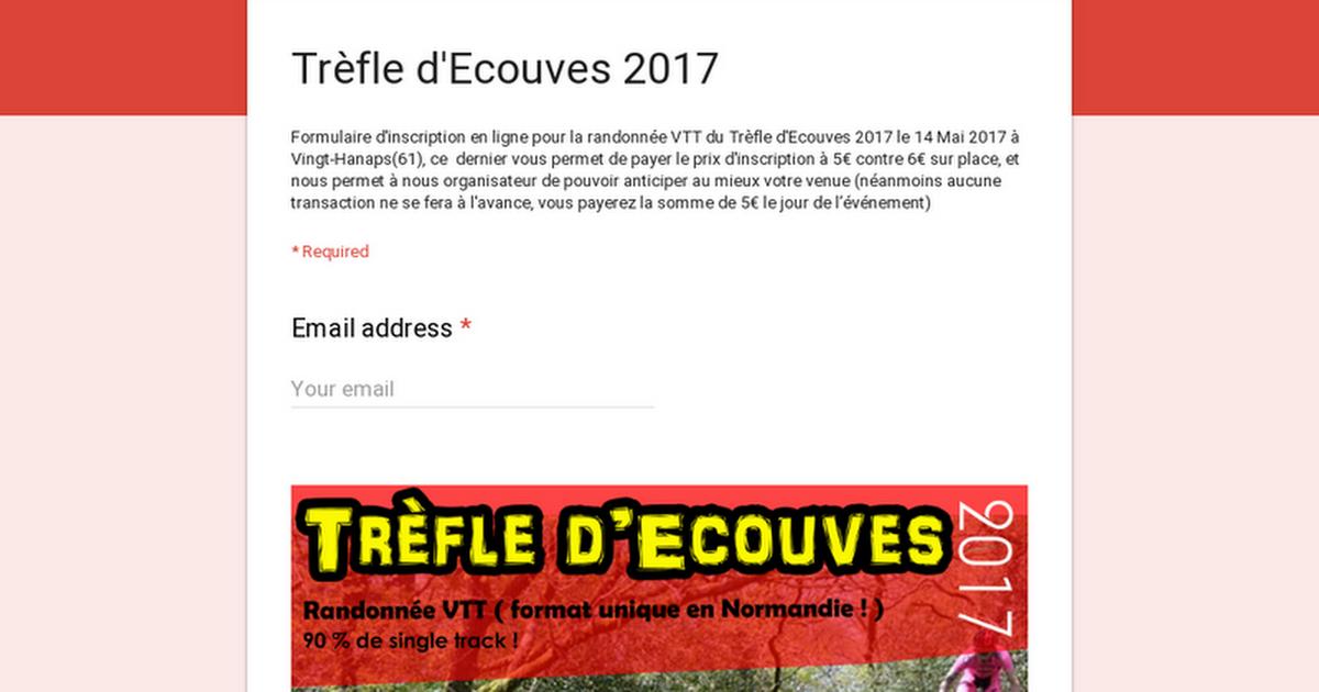 Trèfle d'Ecouves 2017