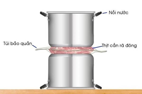 Tổng hợp 4 cách rã đông thịt nhanh chóng, đúng cách và những điều cần lưu ý