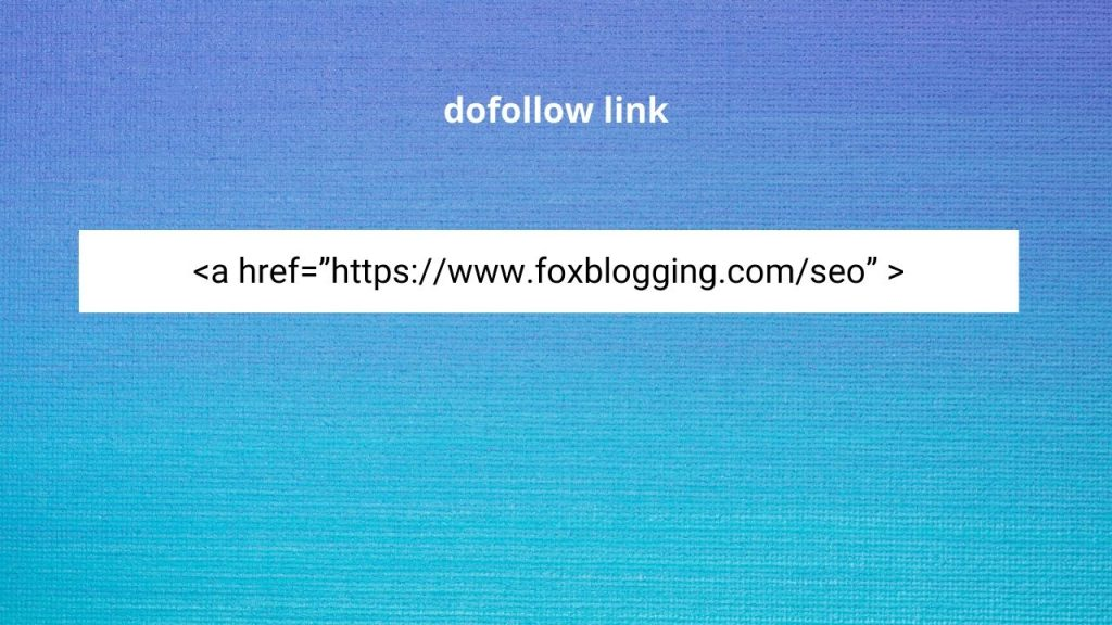 dofollow link example